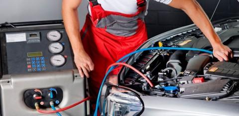 Обслуживание и заправка систем кондиционирования автомобиля