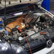 ремонт двигателя Volkswagen Polo sedan